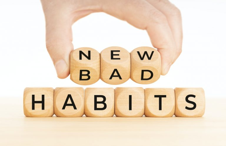 From Bad to new habits concept